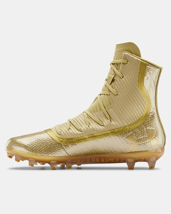 Men's UA Highlight MC Football Cleats, Gold, pdpMainDesktop image number 1