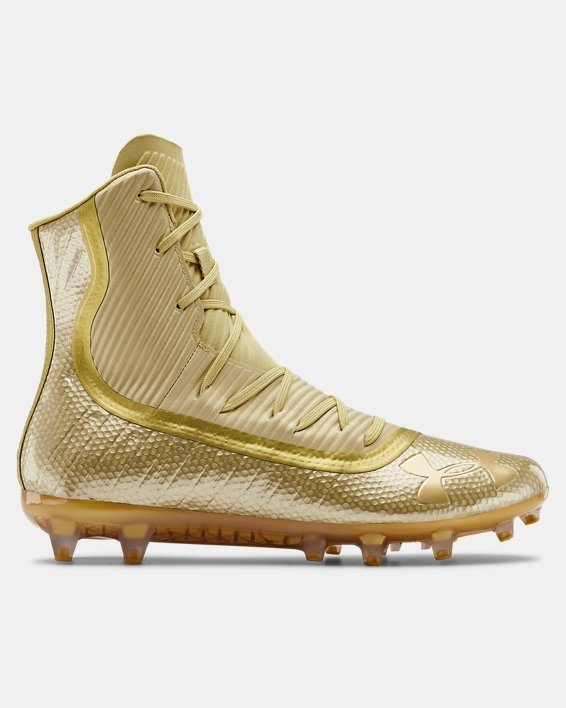 Men's UA Highlight MC Football Cleats, Gold, pdpMainDesktop image number 0