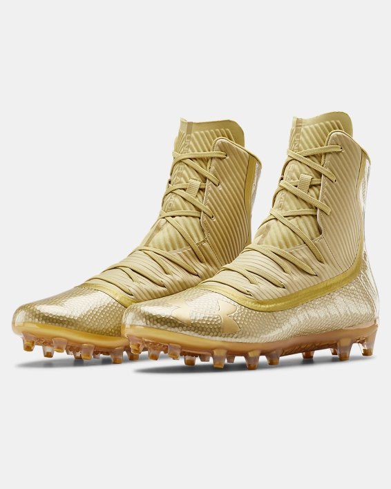 Men's UA Highlight MC Football Cleats, Gold, pdpMainDesktop image number 4