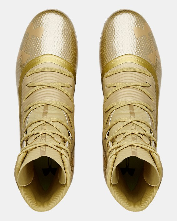 Men's UA Highlight MC Football Cleats, Gold, pdpMainDesktop image number 3