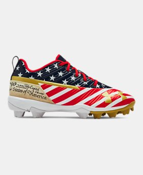 571c0ff7c Boys  UA Harper 3 Low RM Jr. LE Baseball Cleats 1 Color Available  55