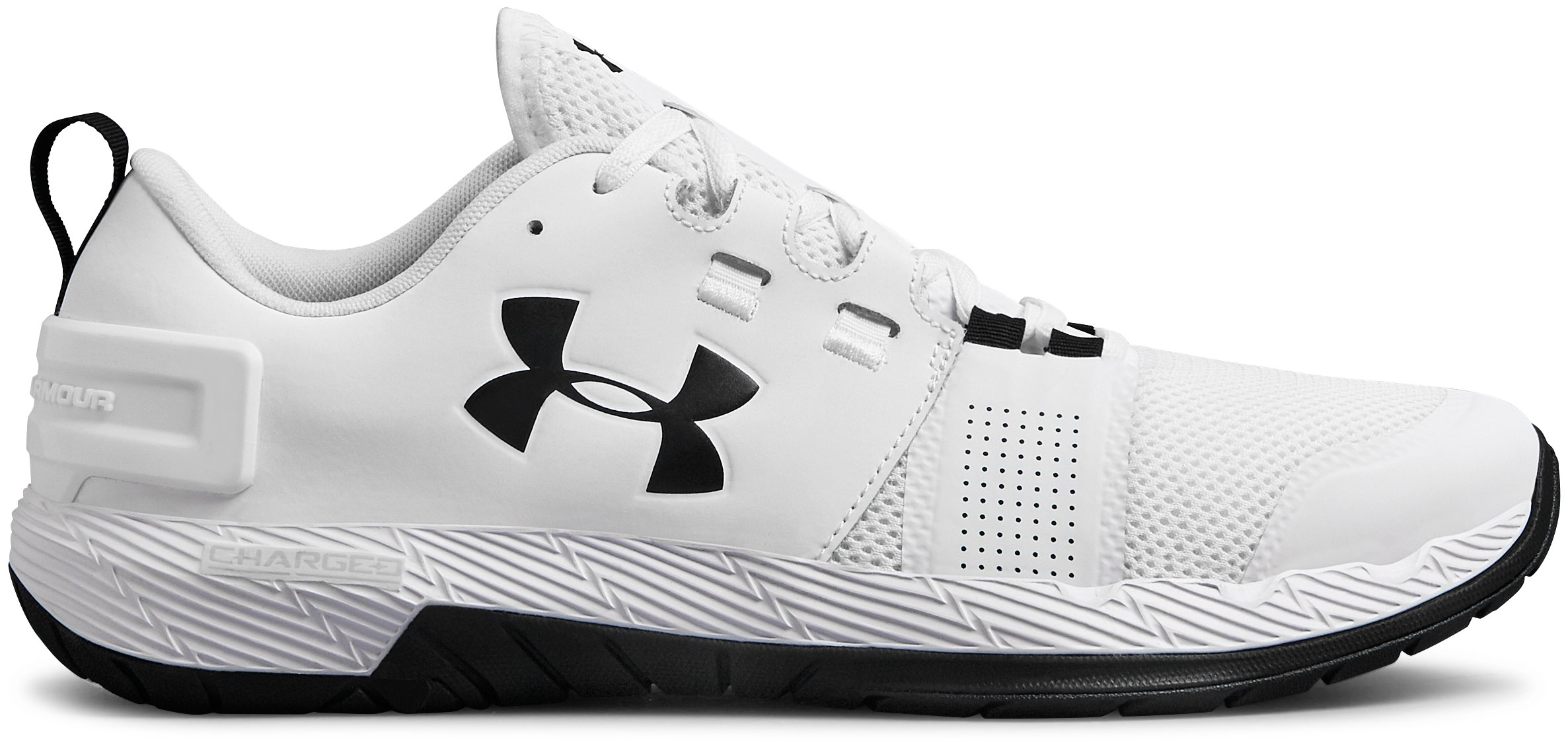 Men's UA Commit TR X NM Training Shoes, White, zoomed