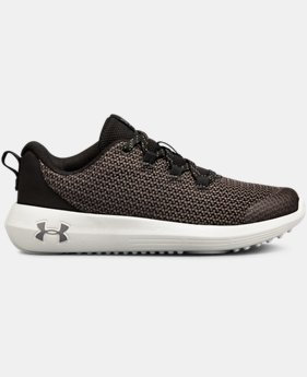 New Arrival  Boys' Grade School UA Ripple Shoes  2  Colors Available $60