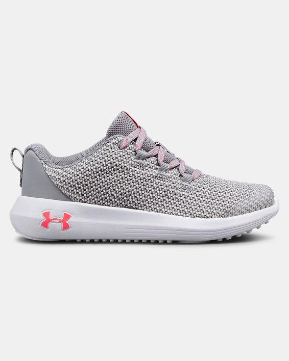 Girls' Pre-School UA Ripple Shoes, Gray, pdpMainDesktop image number 0
