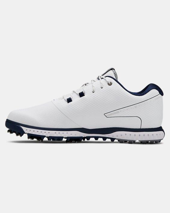 Men's UA Fade RST 2 Golf Shoes, White, pdpMainDesktop image number 1