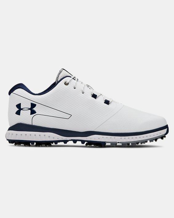Men's UA Fade RST 2 Golf Shoes, White, pdpMainDesktop image number 0
