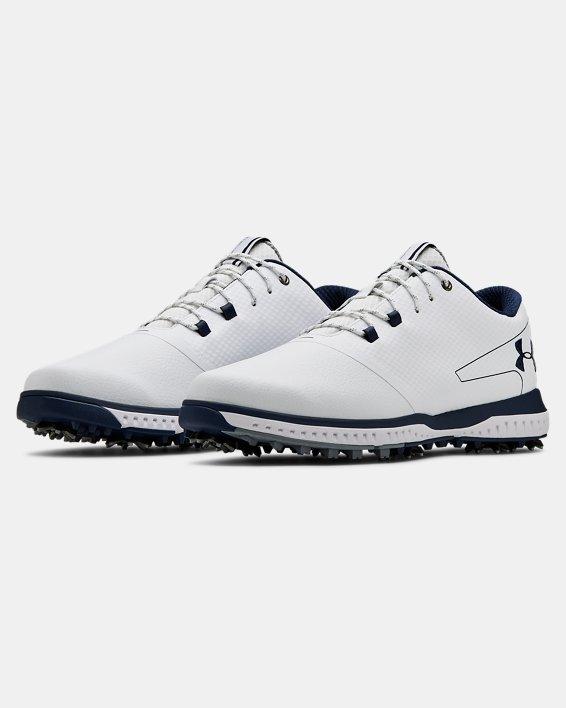 Men's UA Fade RST 2 Golf Shoes, White, pdpMainDesktop image number 4