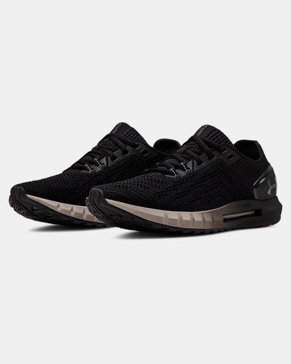 Women's UA HOVR™ Sonic 2 Running Shoes, Black, pdpMainDesktop image number 4