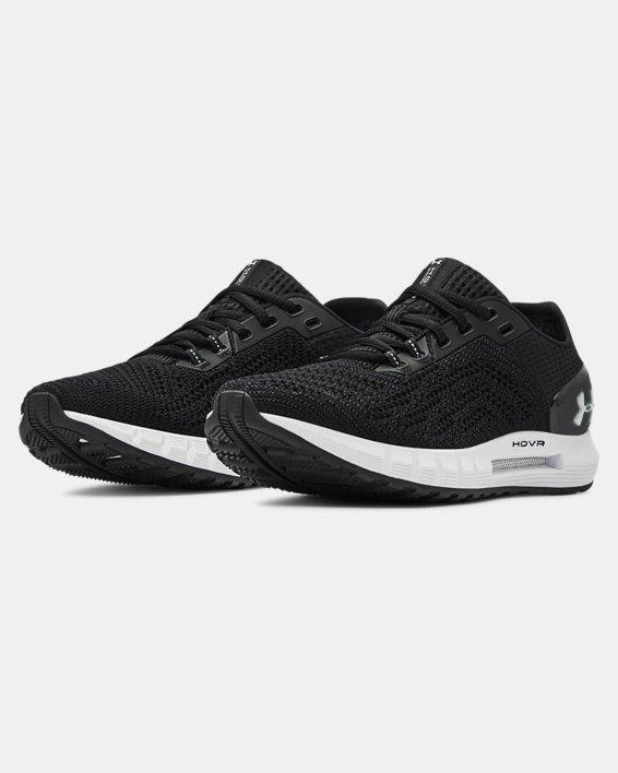 Women's UA HOVR™ Sonic 2 Running Shoes, Black, pdpMainDesktop image number 4