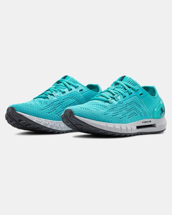 Women's UA HOVR™ Sonic 2 Running Shoes, Blue, pdpMainDesktop image number 4