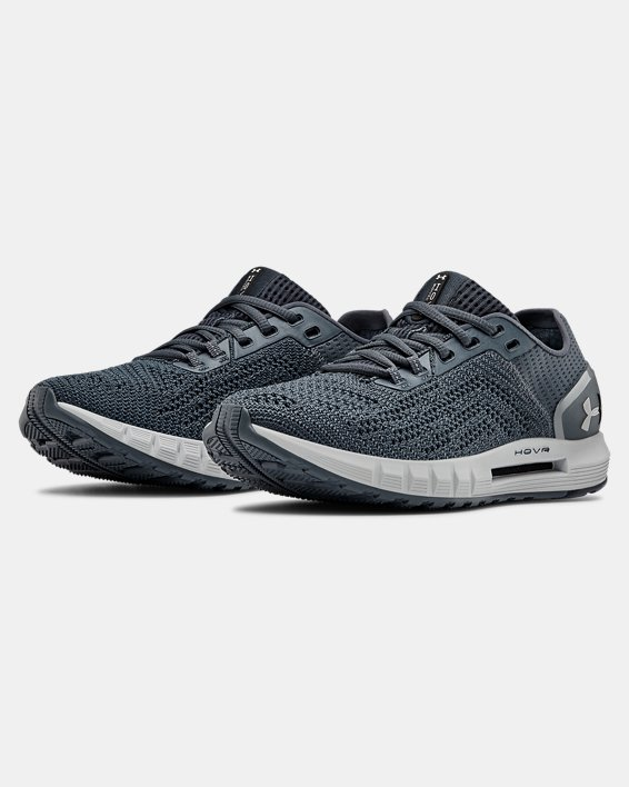 Women's UA HOVR™ Sonic 2 Running Shoes, Gray, pdpMainDesktop image number 4