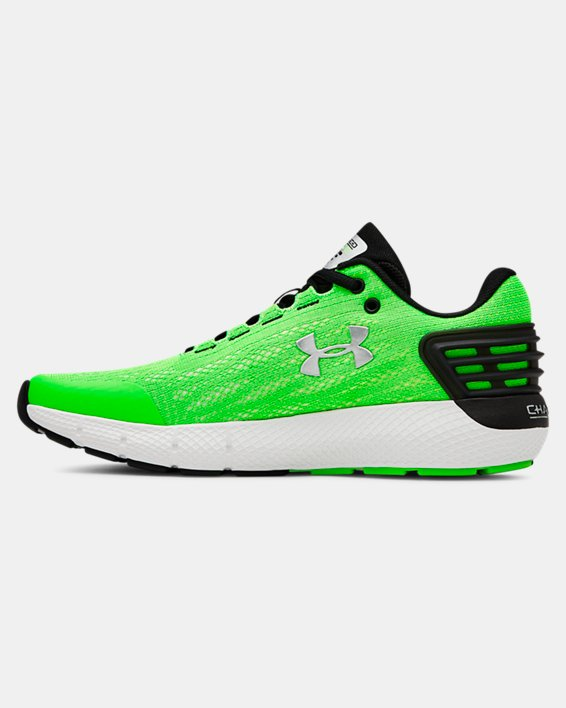 Boys' Grade School UA Charged Rogue Running Shoes, Green, pdpMainDesktop image number 1