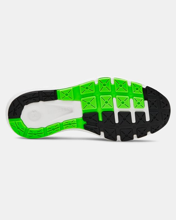 Boys' Grade School UA Charged Rogue Running Shoes, Green, pdpMainDesktop image number 4