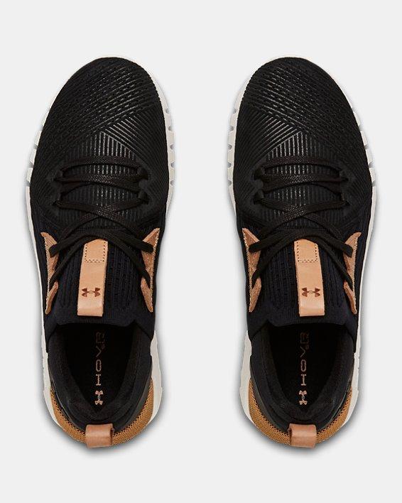 Women's UA HOVR™ SLK EVO Perf Suede Sportstyle Shoes, Black, pdpMainDesktop image number 2