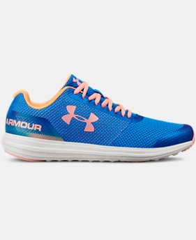 Girls' Grade School UA Surge Prism RN Shoes   $70