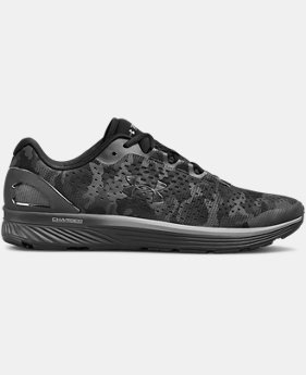 New Arrival Men's UA Charged Bandit 4 Graphic Running Shoes  1  Color Available $80