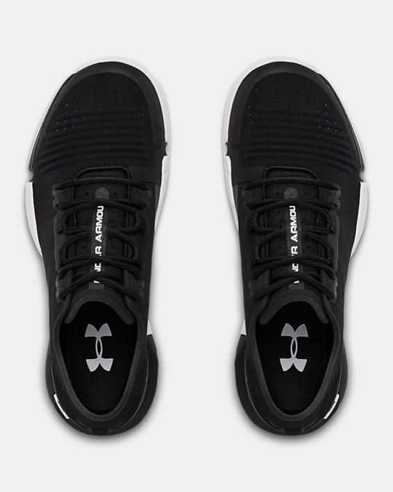 Women's UA TriBase™ Reign Training Shoes, Black, pdpMainDesktop image number 3