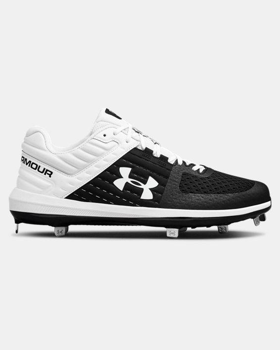 Men's UA Yard Low ST Baseball Cleats, Black, pdpMainDesktop image number 0