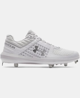 New Arrival Men's UA Yard Low ST Baseball Cleats  1  Color Available $90