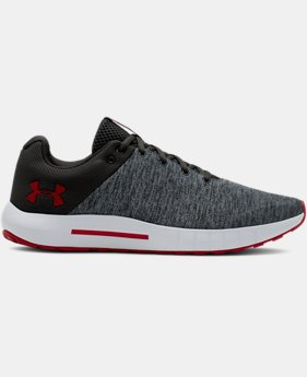 New Arrival Men's UA Micro G® Pursuit Twist Running Shoes  2  Colors Available $70