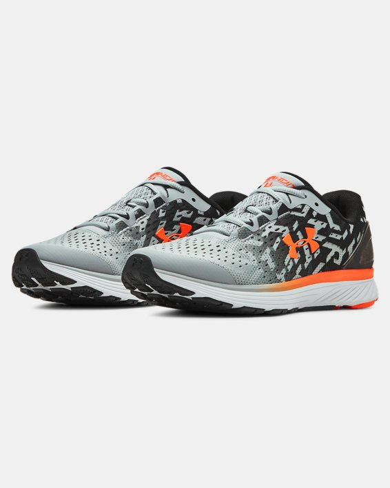 Boys' Grade School UA Bandit 4 NG Running Shoes, Gray, pdpMainDesktop image number 4