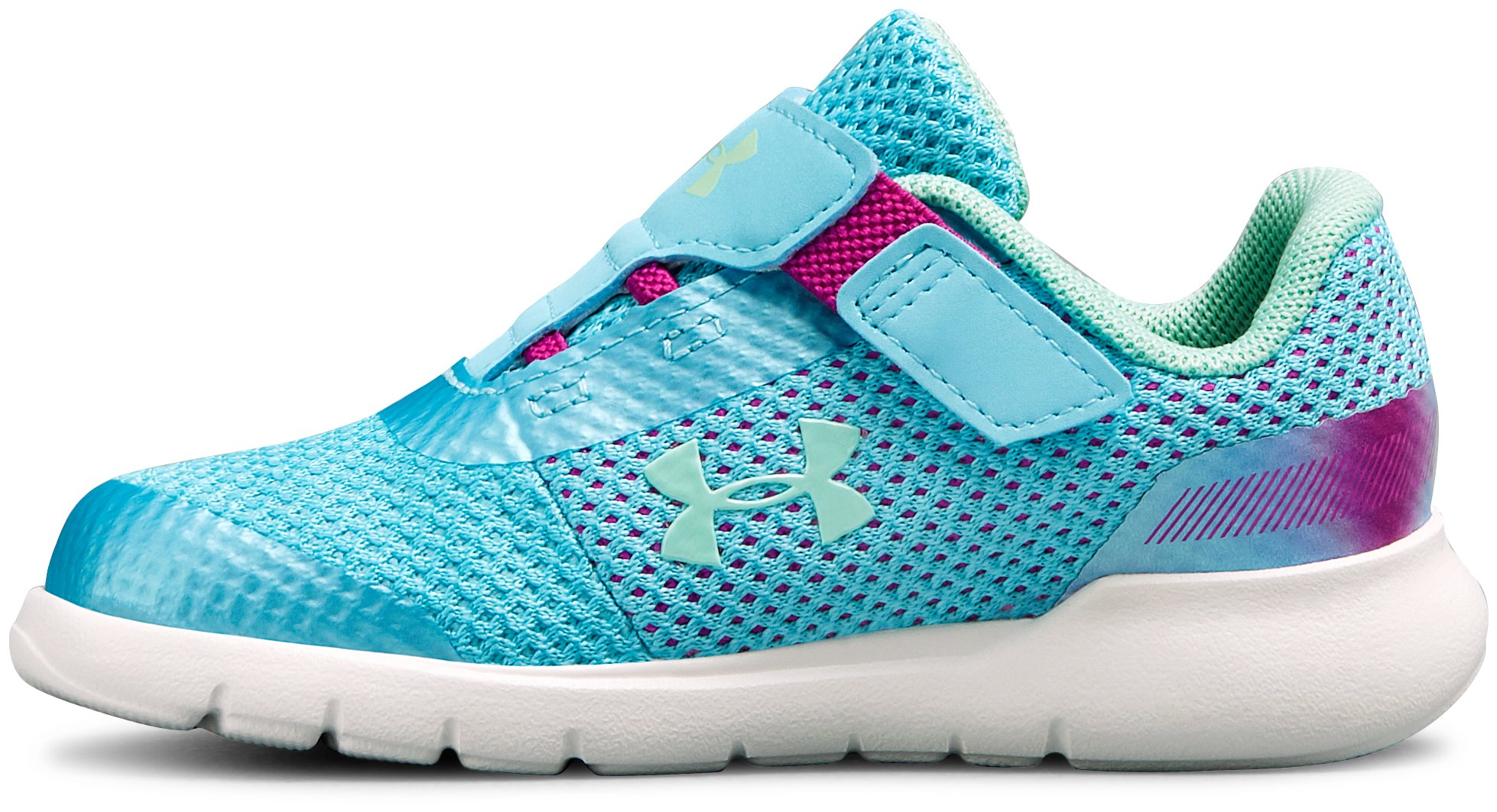 Girls' Infant UA Surge Prism AC Shoes, Venetian Blue,