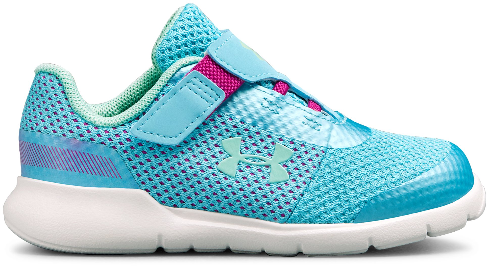 Girls' Infant UA Surge Prism AC Shoes, Venetian Blue, zoomed