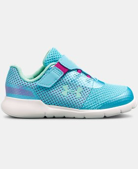Girls' Infant UA Surge Prism AC Shoes  1  Color Available $45
