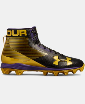 Men's UA Hammer Mid RL Football Cleats   $52