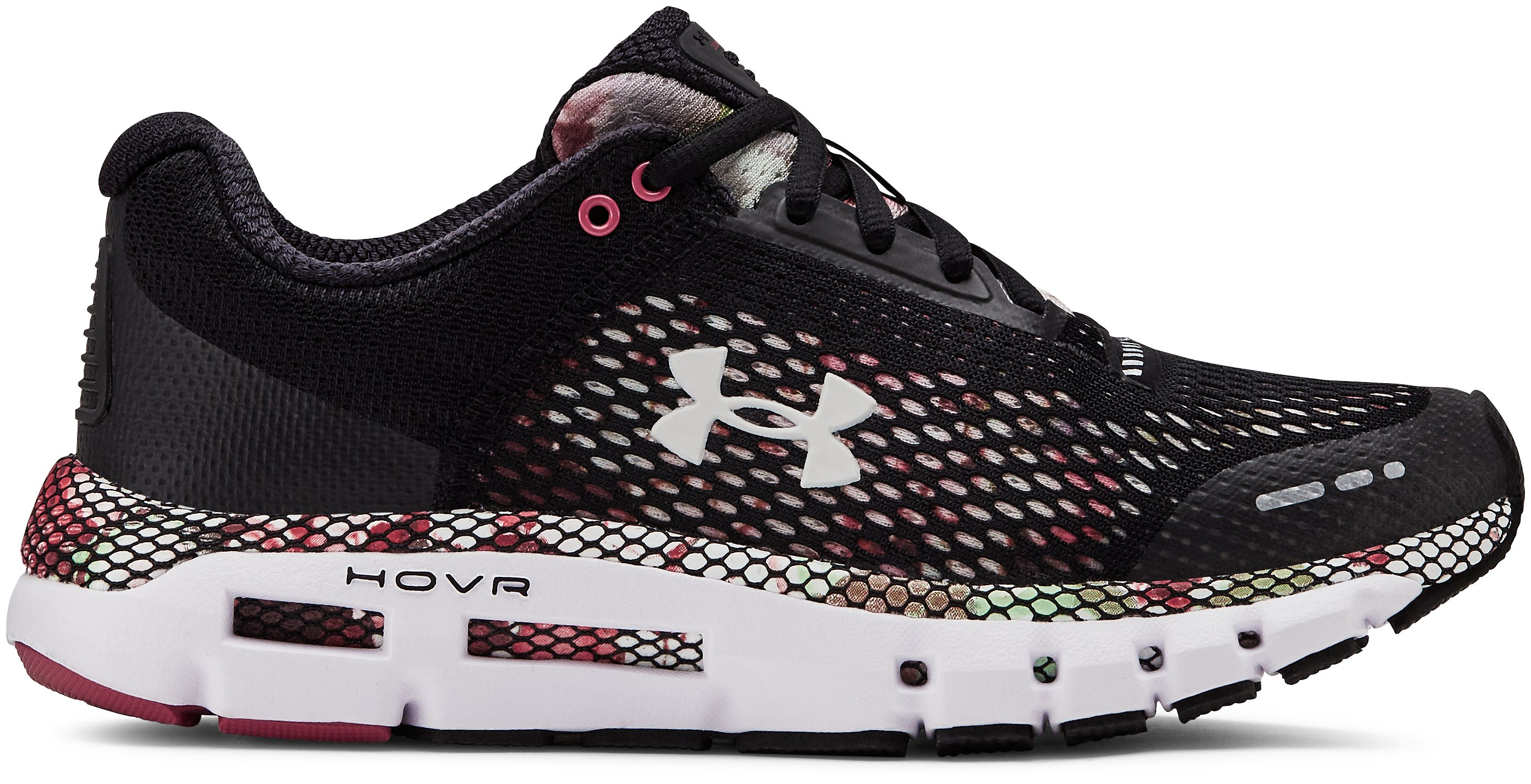 Women's UA HOVR™ Infinite Floral Running Shoes, 360 degree view