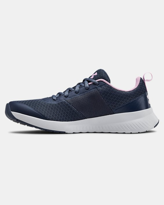 Women's UA Aura Training Shoes, Gray, pdpMainDesktop image number 1