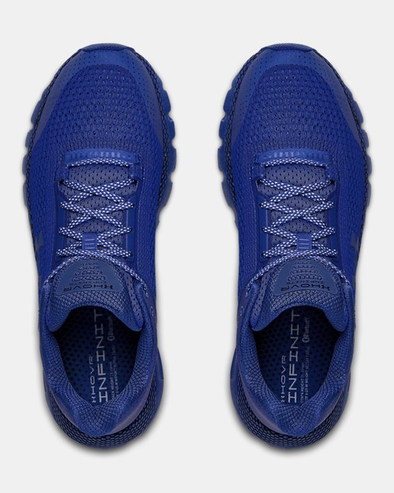 Men's UA HOVR™ Infinite Reflective Running Shoes, Blue, pdpMainDesktop image number 3