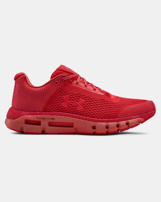 Men's UA HOVR™ Infinite Reflective Running Shoes, Red, pdpMainDesktop image number 0