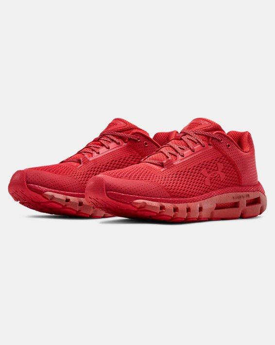 Men's UA HOVR™ Infinite Reflective Running Shoes, Red, pdpMainDesktop image number 4