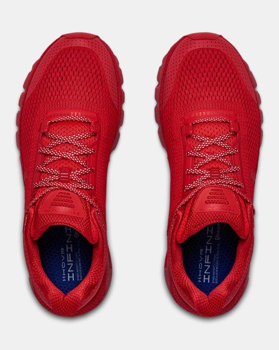 Men's UA HOVR™ Infinite Reflective Running Shoes, Red, pdpMainDesktop image number 3