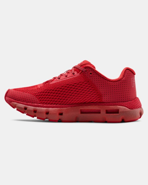 Women's UA HOVR™ Infinite Reflective Running Shoes, Red, pdpMainDesktop image number 1