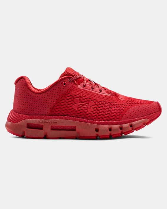 Women's UA HOVR™ Infinite Reflective Running Shoes, Red, pdpMainDesktop image number 0
