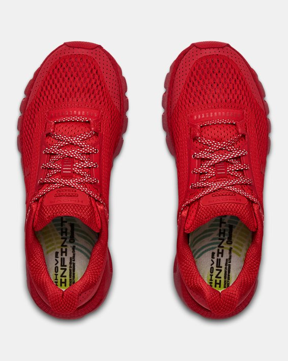 Women's UA HOVR™ Infinite Reflective Running Shoes, Red, pdpMainDesktop image number 3