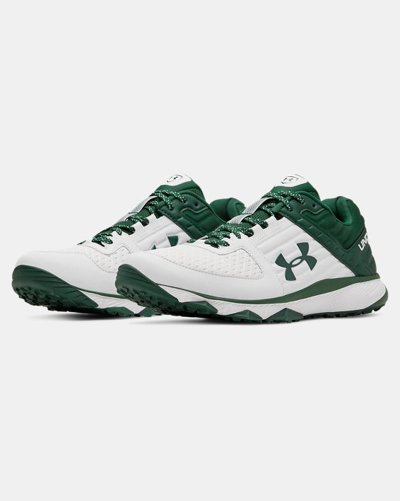 Men's UA Yard Trainer, White, pdpMainDesktop image number 4