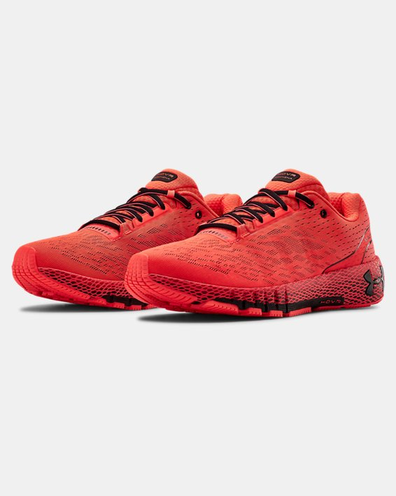 Men's UA HOVR™ Machina Running Shoes, Red, pdpMainDesktop image number 3