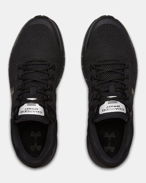 Men's UA Charged Bandit 5 Running Shoes, Black, pdpMainDesktop image number 3