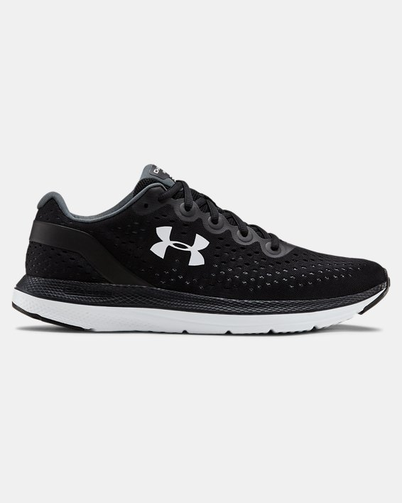Men's UA Charged Impulse Running Shoes, Black, pdpMainDesktop image number 0
