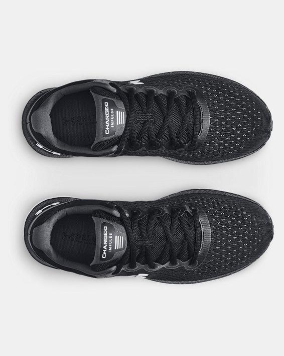 Men's UA Charged Impulse Running Shoes, Black, pdpMainDesktop image number 2