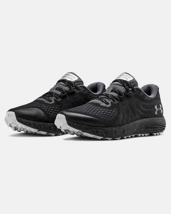 Men's UA Charged Bandit Trail Running Shoes, Black, pdpMainDesktop image number 3