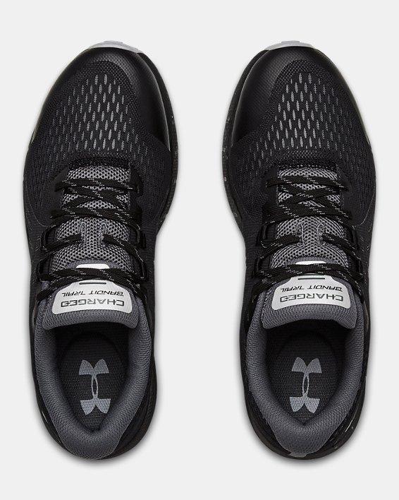 Men's UA Charged Bandit Trail Running Shoes, Black, pdpMainDesktop image number 2