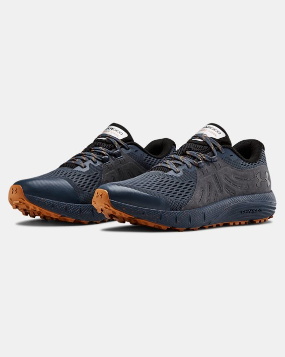 Men's UA Charged Bandit Trail Running Shoes, Gray, pdpMainDesktop image number 4