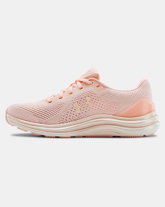 Women's UA Liquify Running Shoes, White, pdpMainDesktop image number 1