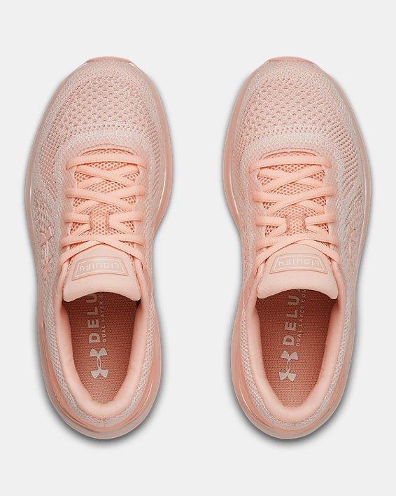 Women's UA Liquify Running Shoes, White, pdpMainDesktop image number 3