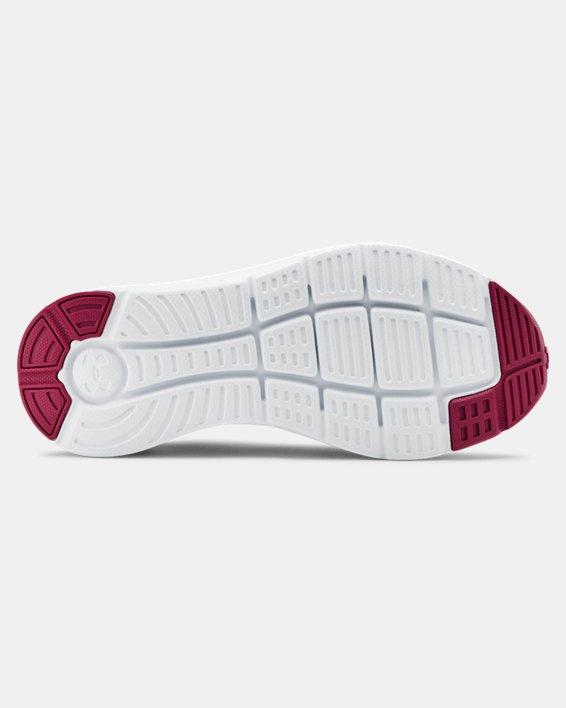 Women's UA Charged Impulse Running Shoes, White, pdpMainDesktop image number 2
