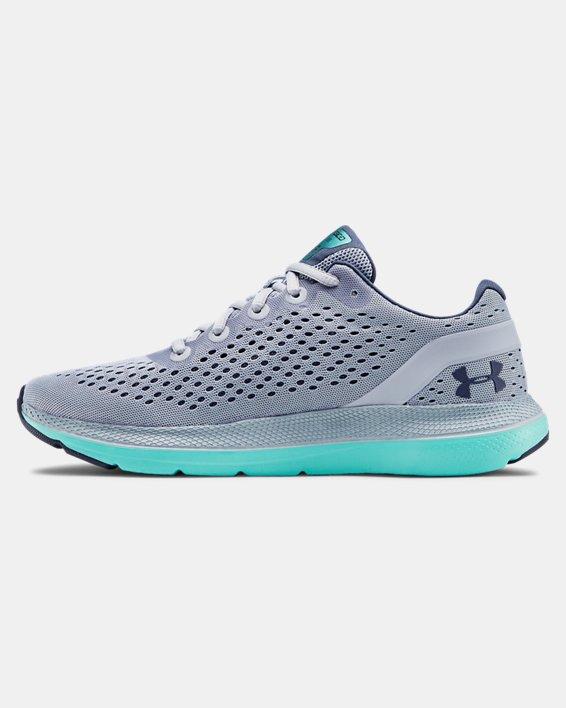 Women's UA Charged Impulse Running Shoes, Blue, pdpMainDesktop image number 1